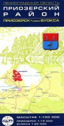 Карта Приозерский район Приозерск Ленинградская область
