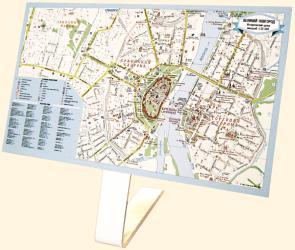 Настольная бизнес-карта Великий Новгород