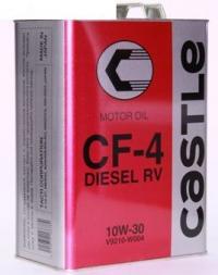 Масло моторное Castle CF-4 10W-30, 4 литра