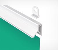 Рейки пластиковые для подвешивания карт (длина 1000 мм)
