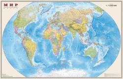 Карта Мира политическая настенная