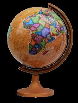 Глобус политический на деревянной подставке ретро стиль