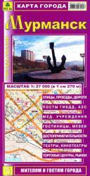 Карта Мурманск