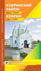 Карта Кобрин Кобринский район Беларусь