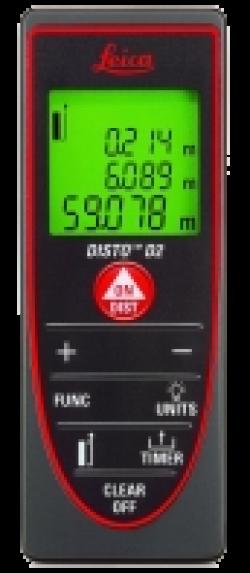 Лазерный дальномер LEICA DISTO D 2
