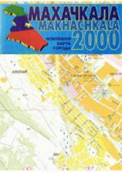 Карта Махачкала