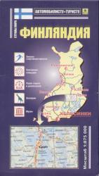 Карта Финляндия