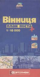 Карта Винница Украина
