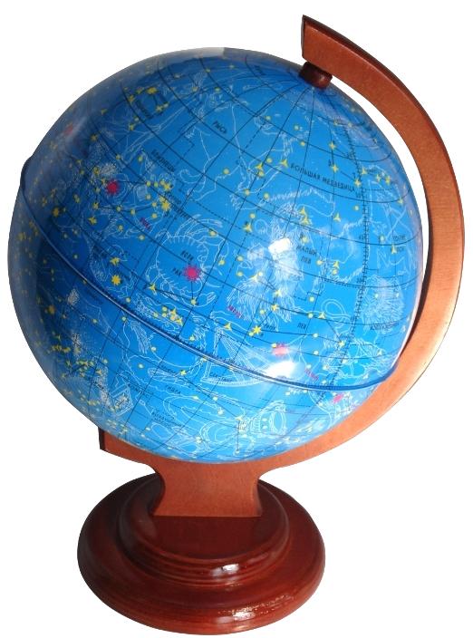 Глобус звездного неба с подсветкой