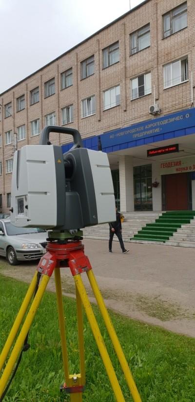 Первые шаги по внедрению Лазерного сканера LeicaScansystem P30.